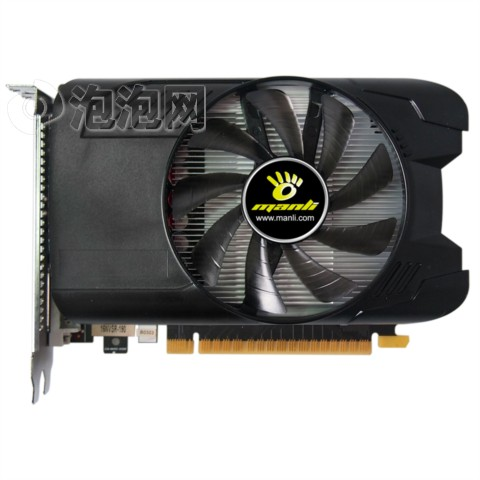 万丽GTX1050-2G5 战魔 1354MHz-1455MHz/7008MHz 128Bit DDR5 PCI-E3.0免插电设计 无需外接电源供电显卡图片1
