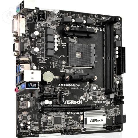 华擎ab350m-hdv主板(amd b350/am4 socket)图片3
