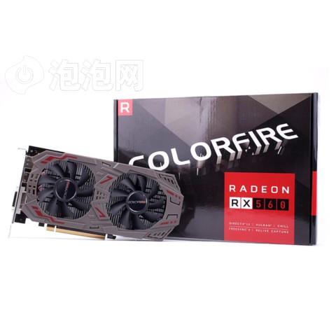 镭风RX 560 悍甲蜥 4G 1275MHz/7000MHz 4G/128bit GDDR5 PCI-E 3.0显卡图片5