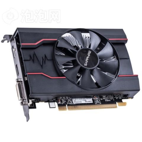 蓝宝石RX550 2G D5 白金版 OC 1206MHz/7000MHz 2GB/128bit GDDR5 DX12 独立游戏显卡图片2