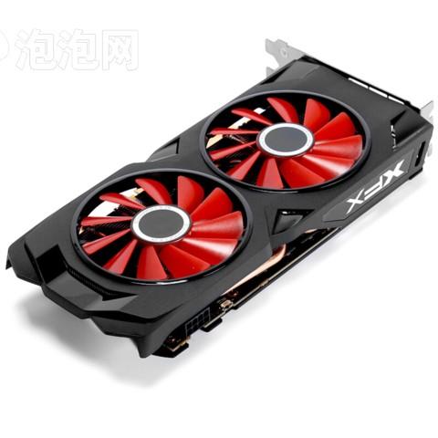 XFX讯景RX 570 8G 黑狼版 1286/7000MHz 8G 256bit GDDR5 显卡图片5