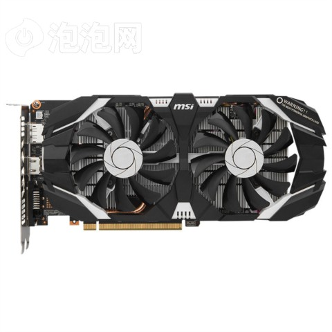 微星GTX 1060 飙风 6G GDDR5 192BIT PCI-E 3.0 吃鸡显卡图片2