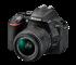 尼康D5500 DX画幅单反相机外观图片3