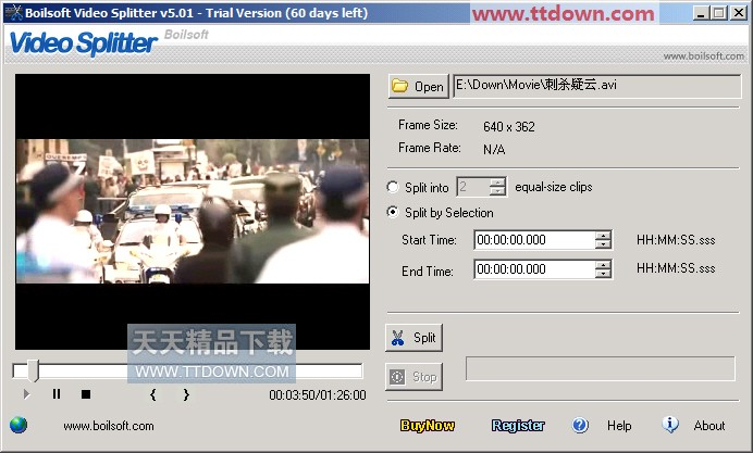 01.1 视频分割器 媒体制作 泡泡网下载