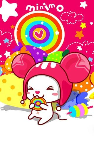 可爱小老鼠_iphone4s壁纸|iphone4壁纸|ipad2
