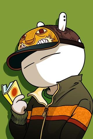 兔斯基_iphone4s壁纸|iphone4壁纸|ipad2壁纸