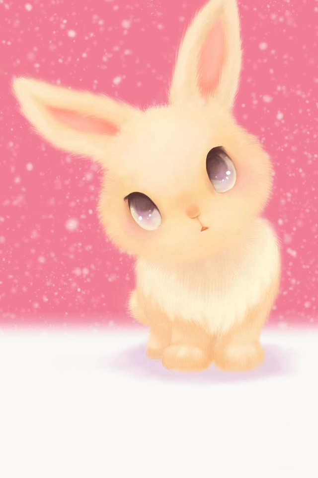 小白兔剪贴画海绵纸-可爱兔兔大图-+壁纸频道   可爱图图_趣味卡通_手机彩图_手机之家_最