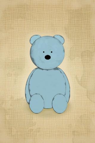 睡觉的小熊卡通图片