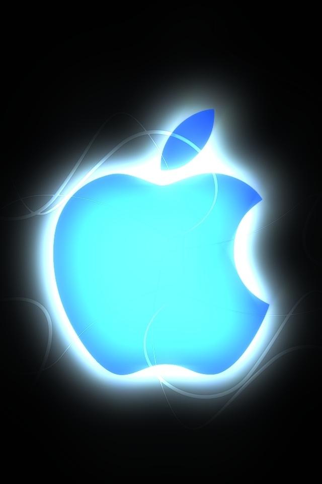 个性设计的苹果logo安卓手机壁纸下载