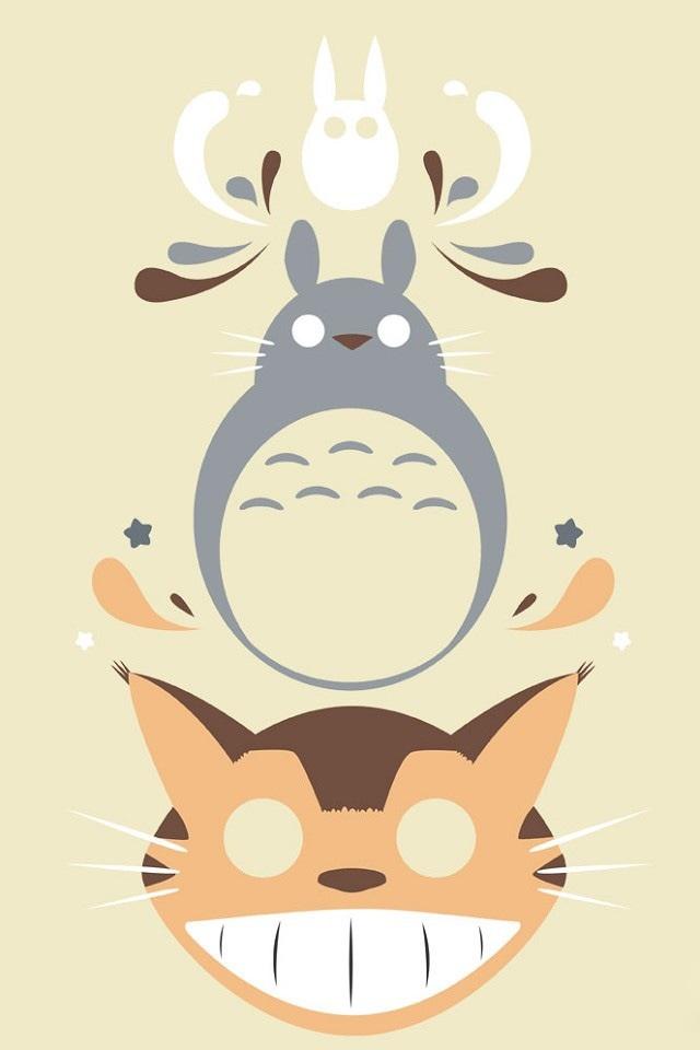 龙猫手机壁纸图片_手机壁纸