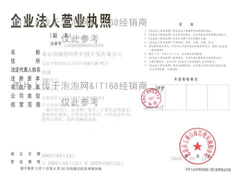 北京青铜鼎软件科技公司