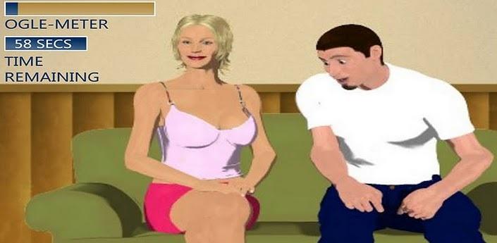 老头偷看美女胸部_偷看美女胸口图片内涵无穷
