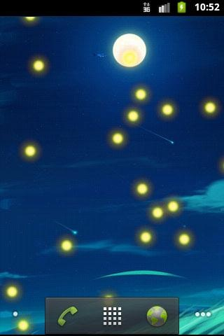 萤火虫动态壁纸,Fireflies Live Wallpaper,安卓软件,android安卓软