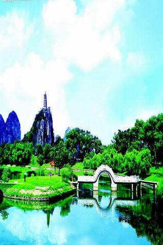 桂林山水美景图片壁纸4