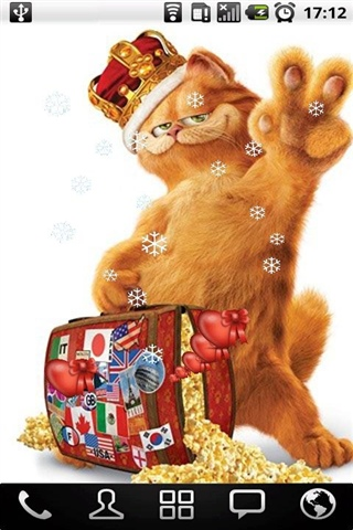 加菲猫动态壁纸图片展示_加菲猫动态壁纸相关图片下载